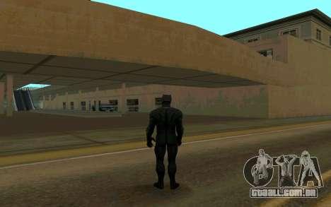 Pantera negra confronto para GTA San Andreas segunda tela