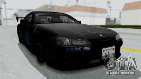 Nissan Silvia S15 RDT para GTA San Andreas vista direita