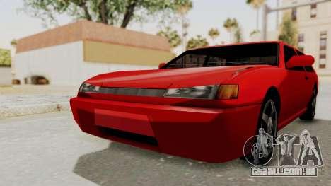 Flash Sport para GTA San Andreas vista direita