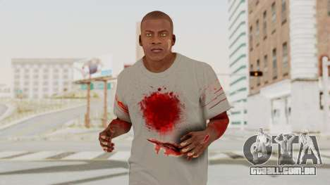 GTA 5 Franklin Zombie Skin para GTA San Andreas
