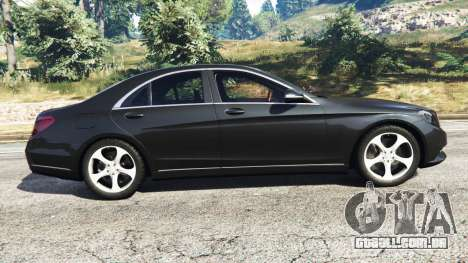 GTA 5 Mercedes-Benz S500 vista lateral esquerda