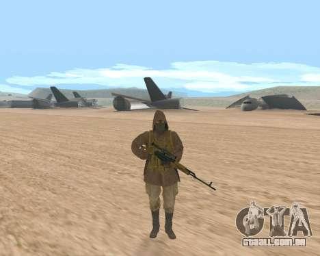 Soviet Sniper para GTA San Andreas