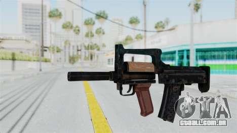 OTs 14 Groza para GTA San Andreas segunda tela