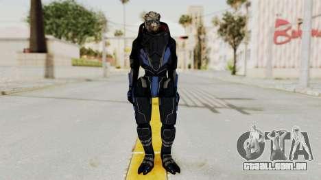 Mass Effect 2 Garrus para GTA San Andreas segunda tela