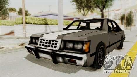 Stanier Turbo para GTA San Andreas traseira esquerda vista