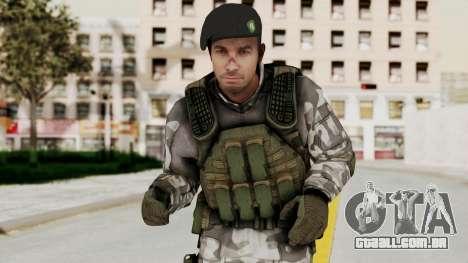 Black Mesa - HECU Marine Beret para GTA San Andreas
