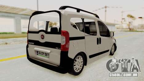Fiat Fiorino 2014 para GTA San Andreas esquerda vista