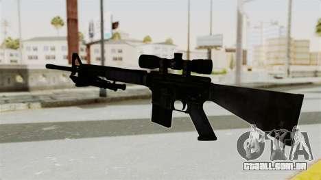 M16 Sniper para GTA San Andreas segunda tela