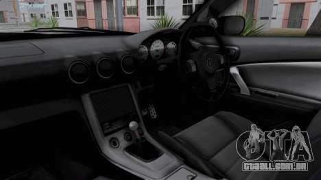 Nissan Silvia S15 RDT para GTA San Andreas vista interior