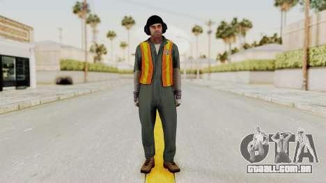 GTA 5 Trevor v1 para GTA San Andreas segunda tela