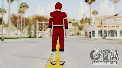 Power Rangers Turbo - Red para GTA San Andreas terceira tela