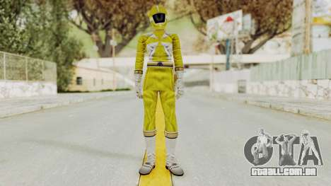Power Rangers Lightspeed Rescue - Yellow para GTA San Andreas segunda tela