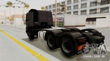 Volvo FMX Euro 5 6x4 para GTA San Andreas esquerda vista