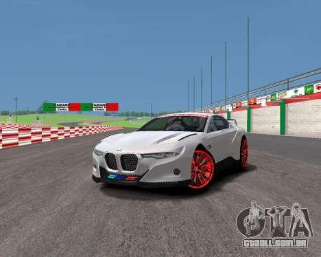 BMW 3.0 CSL Hommage R para GTA 4 traseira esquerda vista