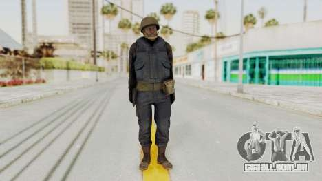 MGSV Phantom Pain RC Soldier Vest v2 para GTA San Andreas segunda tela