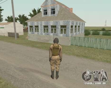 Soldados soviéticos para GTA San Andreas terceira tela