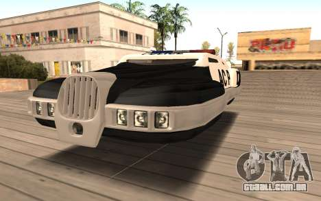 Flying Police para GTA San Andreas