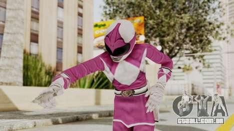 Mighty Morphin Power Rangers - Pink para GTA San Andreas