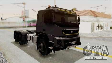 Volvo FMX Euro 5 6x4 para GTA San Andreas vista direita