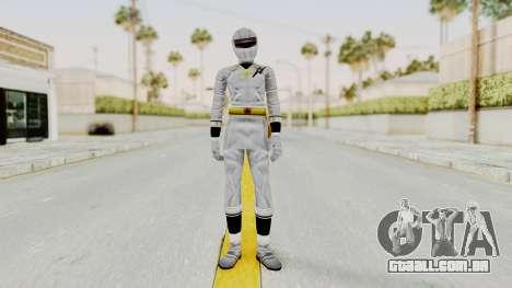 Alien Rangers - White para GTA San Andreas segunda tela