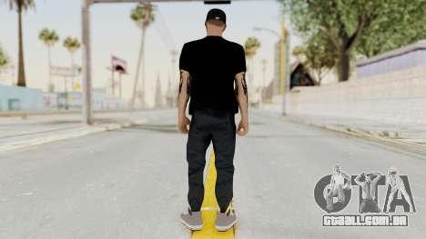 Banda 12 Skin para GTA San Andreas terceira tela