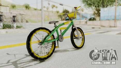 Bully SE - BMX para GTA San Andreas esquerda vista