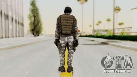 Black Mesa - HECU Marine Beret para GTA San Andreas terceira tela