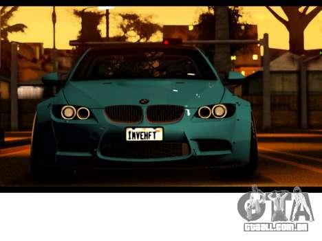 BMW M3 E92 Liberdade Pé LB Desempenho para GTA San Andreas vista direita