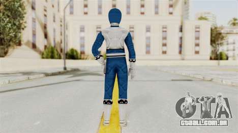 Power Rangers Lost Galaxy - Blue para GTA San Andreas terceira tela