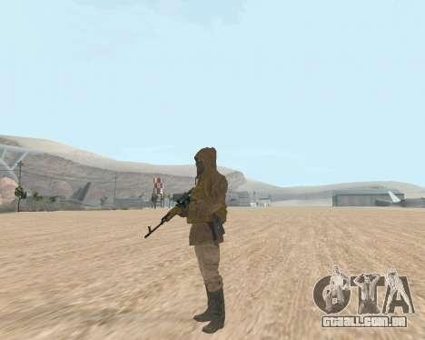 Soviet Sniper para GTA San Andreas por diante tela
