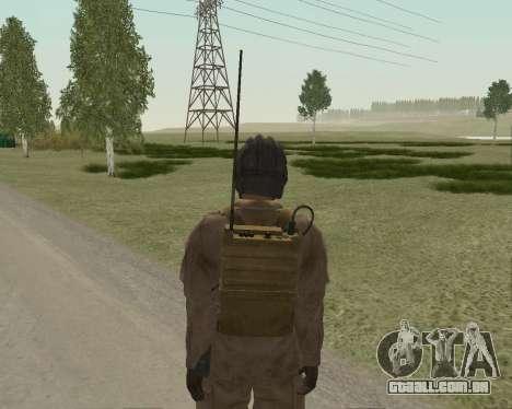 Soldados soviéticos para GTA San Andreas por diante tela
