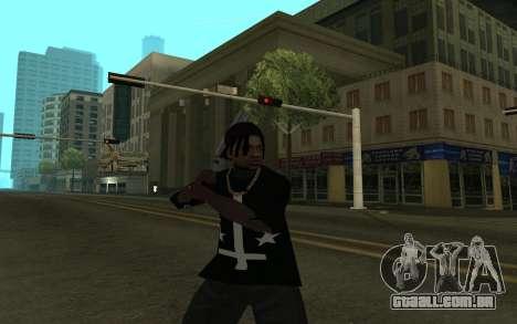 Grove Gang Skin para GTA San Andreas terceira tela