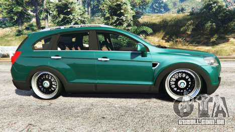 GTA 5 Chevrolet Captiva 2010 vista lateral esquerda