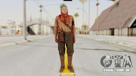 MGSV Phantom Pain Ocelot Mother Base para GTA San Andreas segunda tela