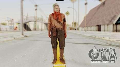 MGSV Phantom Pain Ocelot Mother Base para GTA San Andreas segunda tela