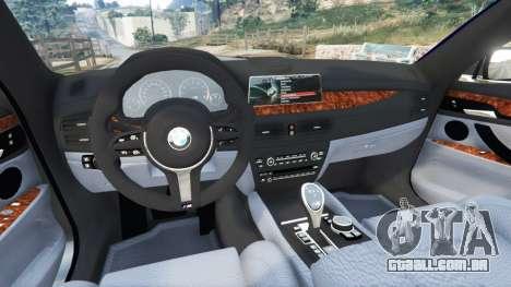 GTA 5 BMW 750Li xDrive (G12) 2016 traseira direita vista lateral