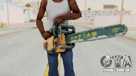 Metal Slug Weapon 8 para GTA San Andreas terceira tela
