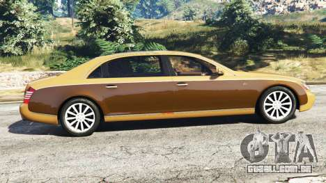 GTA 5 Maybach 62 S vista lateral esquerda