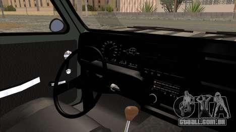 Fiat 147 Vivace para GTA San Andreas vista interior