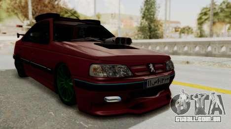 Peugeot Pars Sport para GTA San Andreas vista direita