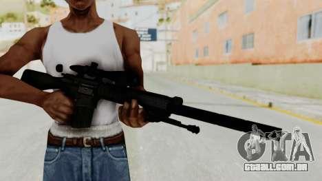 SR-25 para GTA San Andreas terceira tela