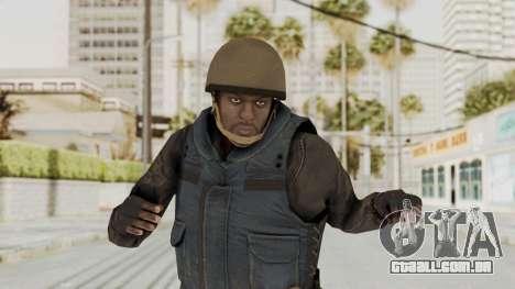 MGSV Phantom Pain RC Soldier Vest v2 para GTA San Andreas
