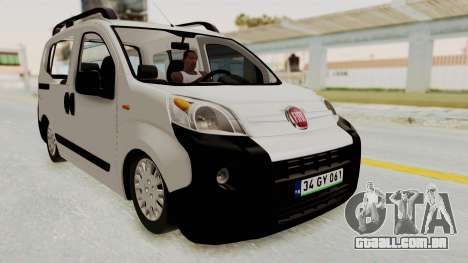 Fiat Fiorino 2014 para GTA San Andreas