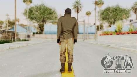 MGSV Phantom Pain CFA Sniper para GTA San Andreas terceira tela