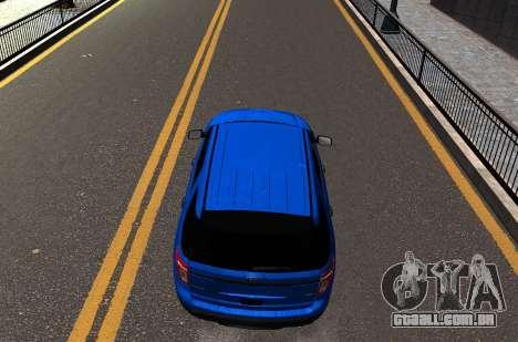 Ford Explorer 2013 para GTA 4 vista direita