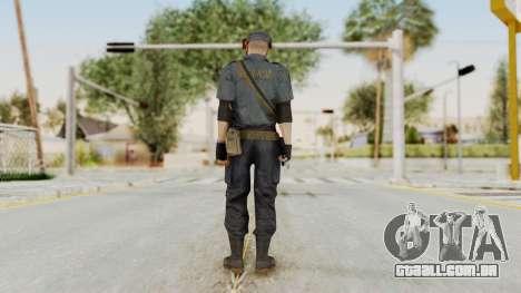 MGSV Phantom Pain Zero Risk Security LMG v2 para GTA San Andreas terceira tela