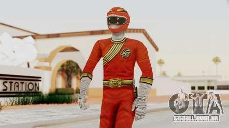 Power Rangers Wild Force - Red para GTA San Andreas