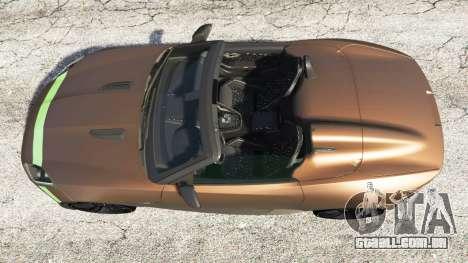 GTA 5 Jaguar F-Type Project 7 2016 voltar vista