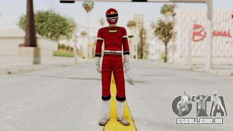 Power Rangers Turbo - Red para GTA San Andreas segunda tela