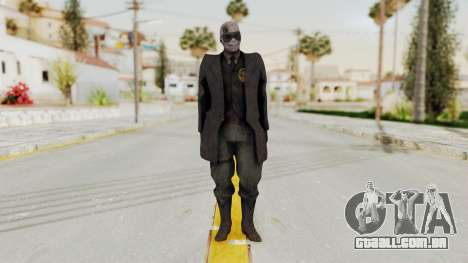 MGSV Phantom Pain SKULLFACE No Hat para GTA San Andreas segunda tela
